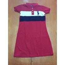 Queimão! Vestido Feminino Polo Ralph Lauren P, M, G, Gg.