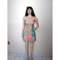Vestido Feminino Curto Rodado Sensual Balada C7