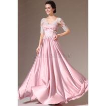 Elegante Vestido De Festa Com Renda. Edressit!!!