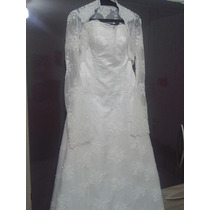 Vestido De Noiva Modelo Casa Assuf (usado)