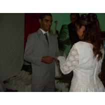 Vestido De Noiva Em Renda Francesa E Perolas