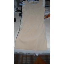 Vestido Tubinho Lindo - Da Joule- Tipo Camurça