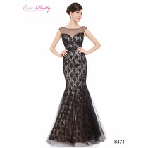 Vestido Ever-pretty Sereia Luxo Importado Pronta Entrega