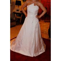 Vestido De Noiva - Branco - Center Noivas - Tomara Que Caia