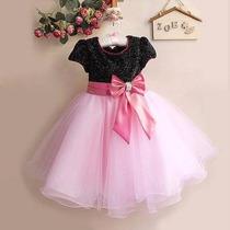 Vestido Infantil Festa Luxo Modelo Princesa Pronta Entrega