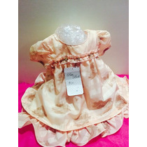 Lindo Vestido Delicado Bebe Boneca Criança