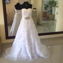 Vestido De Noiva. Pronta Entrega. Importado