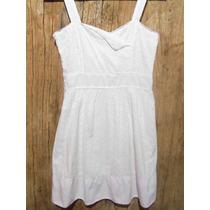 Vestido Branco De Lese T P