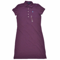 Vestido Polo Ralph Lauren: Tamanho M / M Novo Original