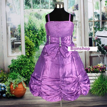 Vestido Infantil Festa/princesa/dama Tam 12, 14, 16