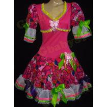 Vestido Junino Adulto Roupa Festa Junina Caipira - Tam 46