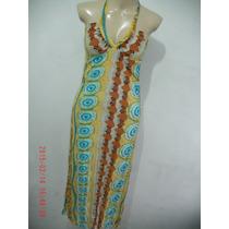 Lindo Vestido Estampado- Luri Tam: P