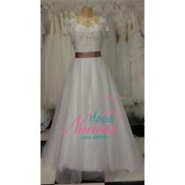 Vestido Noiva Debutante G Promoção Bolero Pronta Entrega