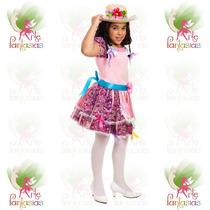 Vestido Junino Infantil Caipira Festa Junina ° Boneca Rosa-c