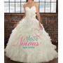 Vestido Noiva Princesa Cauda M Pronta Entrega Decote Coração
