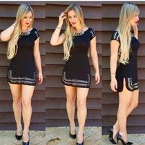 Vestido Panicat Lançamento Moda Girl 2016 Em Viscolycra