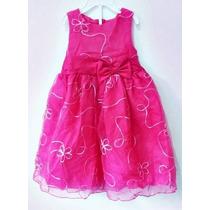 Vestido Infantil Festa Criança Princesa Laço - Importado