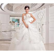 Vestido De Noiva Barato Flower Dress