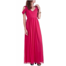 Formal Gatherings Dress By Max And Cleo (vestido Longo Rosa)