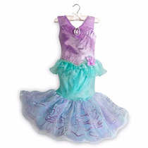 Fantasia Princesa Disney Ariel Novo Original Pronta Entrega