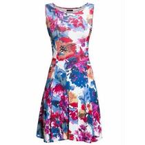 Vestido Florido Plus Size Roupa Do P Ate O Xxg