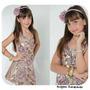 Vestido De Festa Menina Tam. 8 Anos - Preço De Atacado