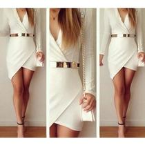 Lindo Vestido Em Malha Curto