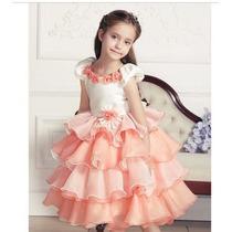 Vestido Festa Infantil Luxo Formatura/casamento/princesa