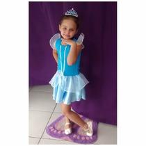 Fantasia Cinderela - Infantil - Point Da Dança