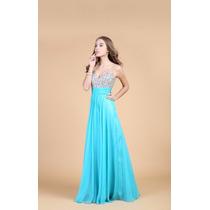 Vestido De Festa Longo Tiffany/madrinha/formatura/casamento