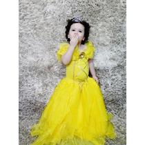 Vestido Fantasia Bela Luxo
