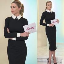 Vestido Social Elegante - Elegante E Discreto !