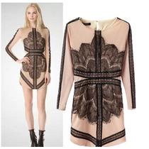 ** 2015 Vestido Nude Com Renda | Pronta Entrega !!! **
