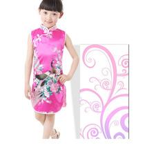 Vestido Curto Importado (pronta Entrega)estilo Retro Chines