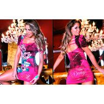 Vestido Pink Rose Original Lipsy Justo Balada Panicat