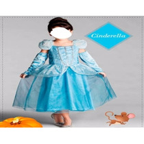 Fantasia Cinderela Infantil