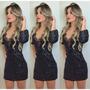 Vestido Feminino De Festa Brilho Pronta Entrega R$ 70,00