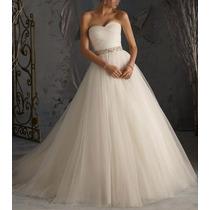 Vestido De Noiva Cauda - Novo Pronta Entrega