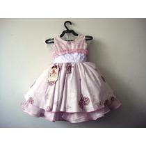 Lindo Vestido Infantil Festa 1049/3- Bambina Frete Grátis