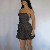 Vestido Hering Tomara Que Caia C/ Faixa De R$ 129,90 Por: