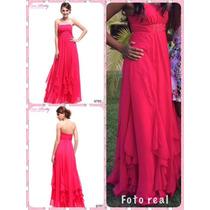 Vestido Longo Everpretty Pink