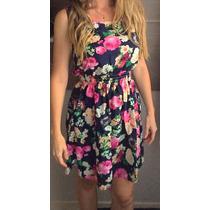 Belo Vestido Florido Delicado - Pronta Entrega