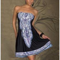 Lindo Vestido Floral Importado Luxo Tomara !!!!