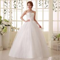 Vestido De Noiva Romântico Importado Pronta Entrega Brasil