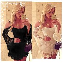 Vestido Renda Elastano Festa Madrinha Casamento .