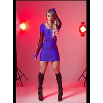 Vestido Feminino Juju Salimen Max Glamm Super Fashion