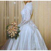 Lindo Vestido De Noiva Da Glória Noivas, Rj