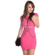 Vestido De Bandagem - Kam Bess - 020748