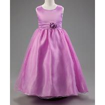 Vestido Infantil Festa Noivinha Daminha Princesa Florista