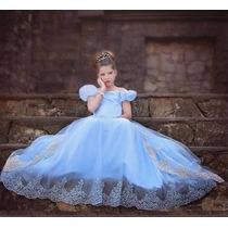 Vestido Fantasia Princesa Cinderela